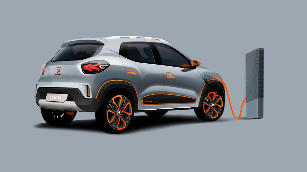 Dacia Spring, el eléctrico asequible que llegará en 2021.