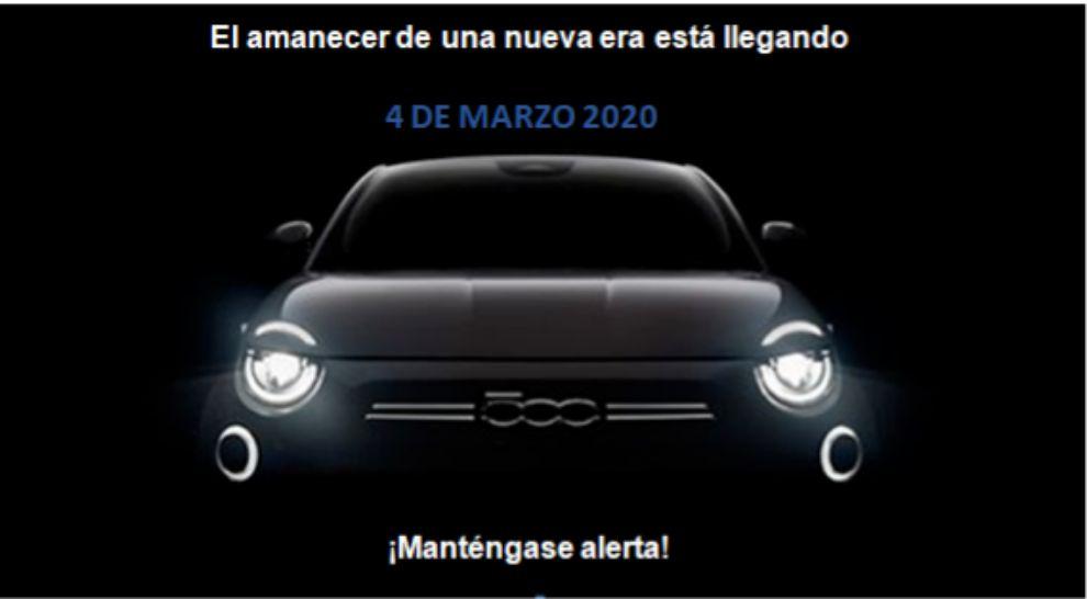 El Fiat 500 eléctrico lo conoceremos mañana.