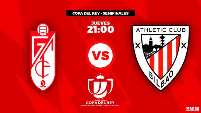Granada - Athletic Club: horario y dónde ver por televisión el...