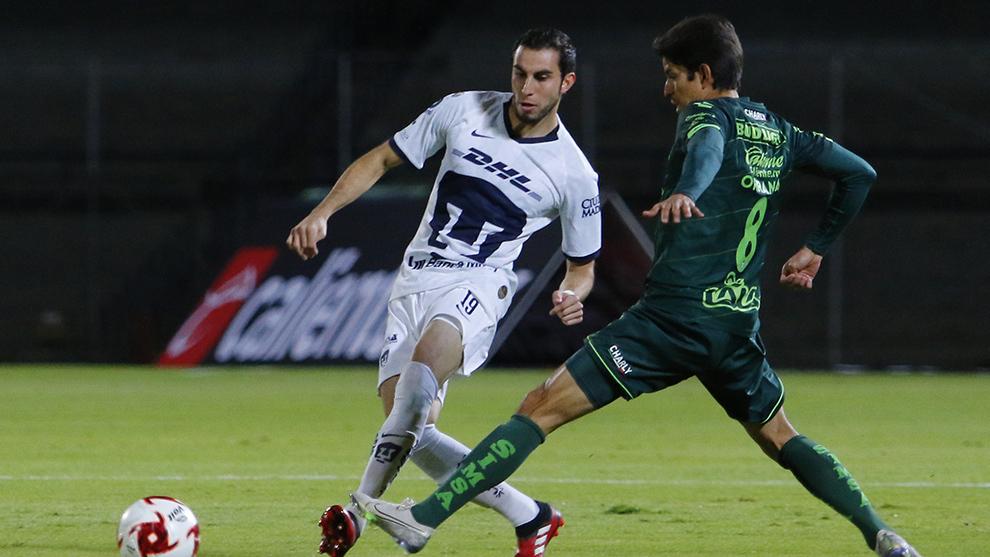 Orrantia en partido de Copa MX