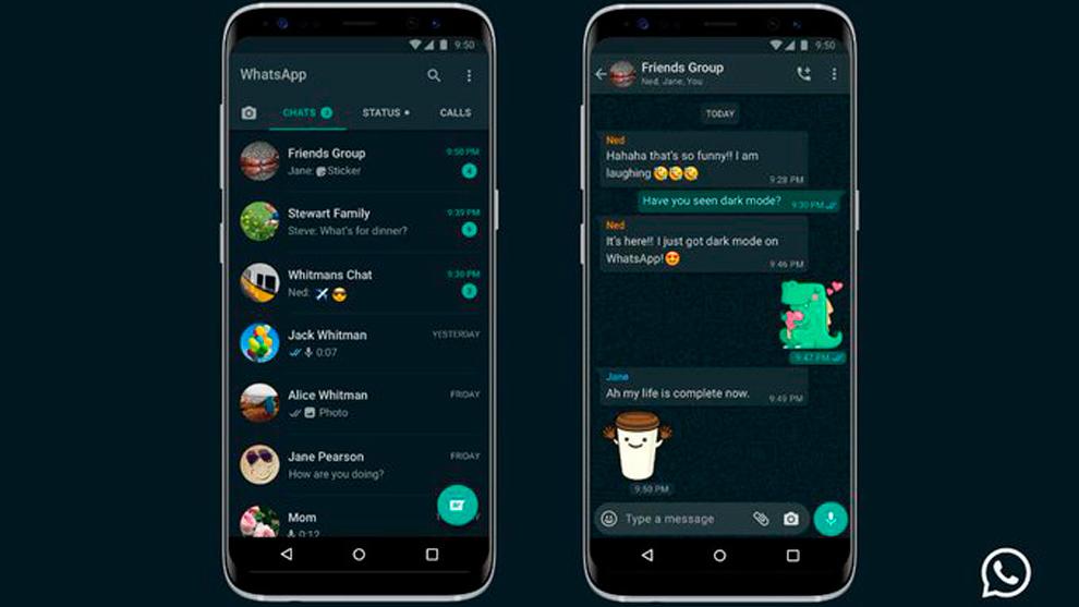 Como activar el modo oscuro en whatsapp paso a paso