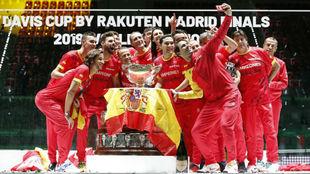 El equipo español que ganó la Copa Davis en la edición de 2019