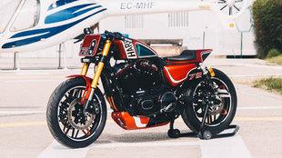 Está realizada sobre la base de una Roadster 1200.