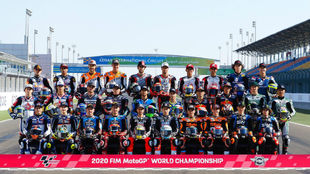Todos los pilotos de Moto2 en Losail.