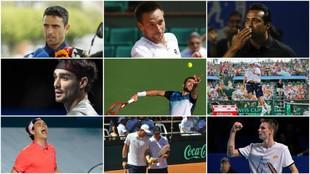 Los rostros más destacados del 'playoff' de Copa Davis