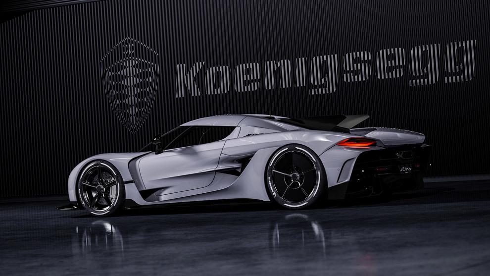 El Koenigsegg Jesbko Absolut carece de alerón trasero.