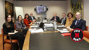 El renovado Tribunal Administrativo del Deporte, en su primera...