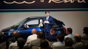 Industria Olivier François, director mundial de la marca Fiat
