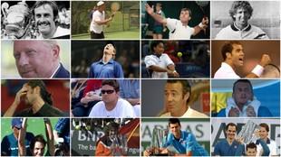 Algunos de los campeones de Indian Wells