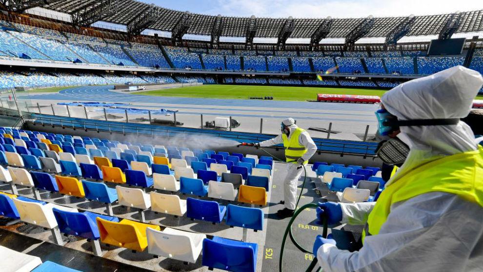 Coronavirus: Serie A se jugará sin público hasta que haya una vacuna, autoridades recomiendan esperar un mes antes de reanudar actividades