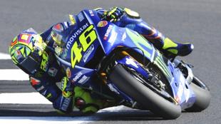 Valentino Rossi, piloto de Moto GP.