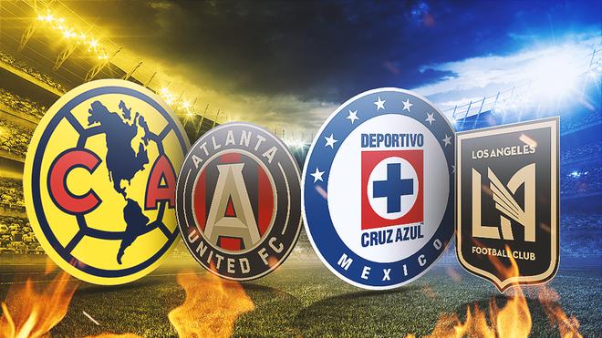 América y Cruz Azul contra la MLS antes del Clásico Joven.
