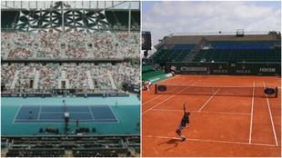 Coronavirus: los torneos de tenis de Miami,  Montecarlo y Roma, los...