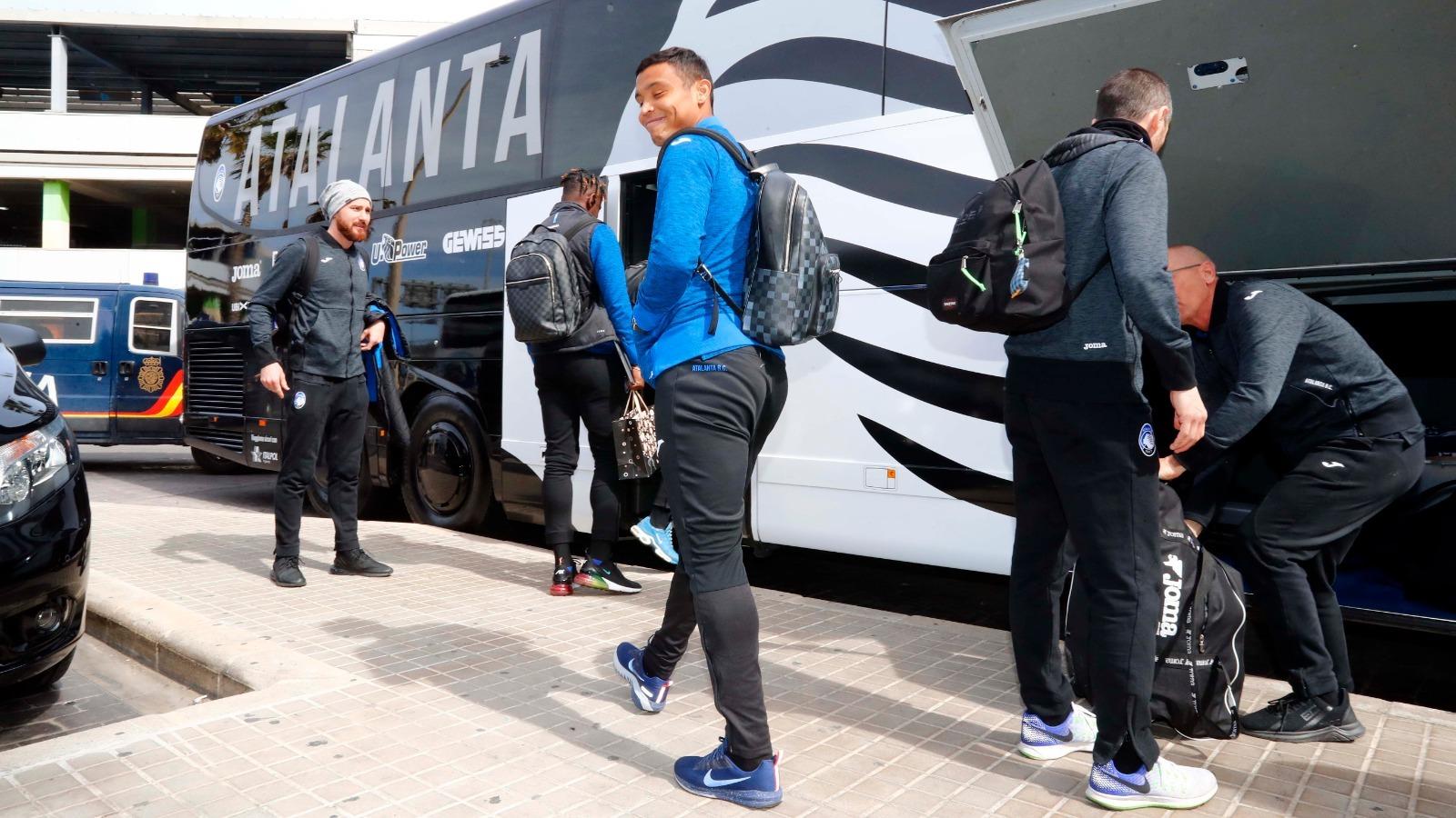Atalanta storm into Champions League quarterfinals - English