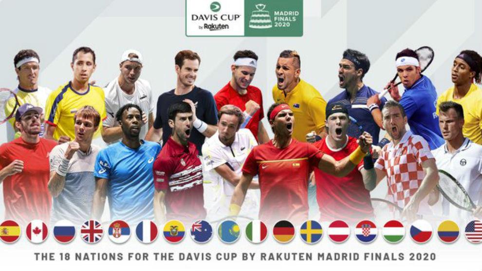 Los 18 equipos clasificados para la fase final de Madrid
