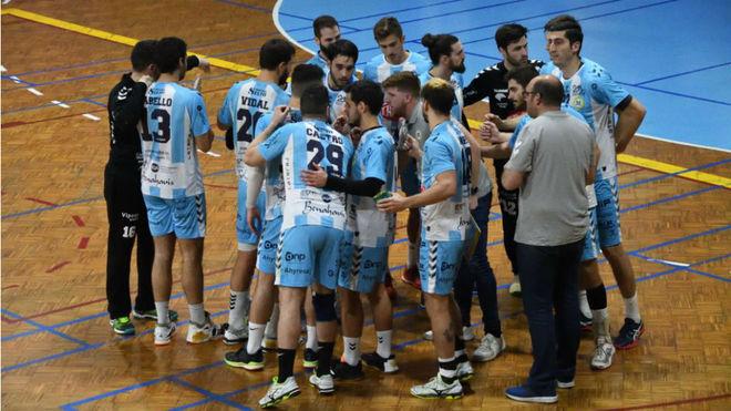 Los jugadores del Málaga Trops, en un encuentro /