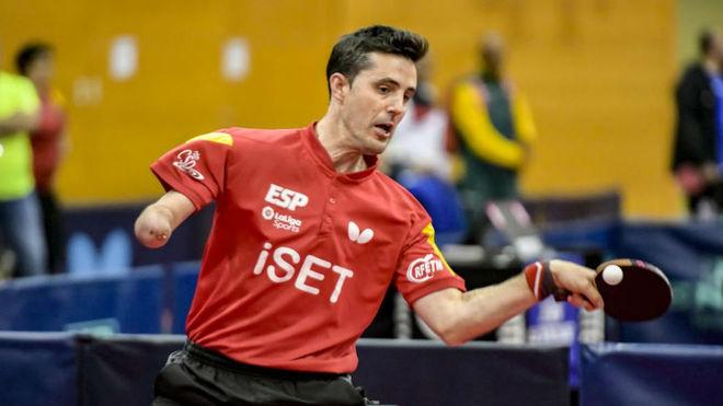 José Manuel Ruiz, durante el Open de España en la Costa Brava.