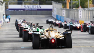 Parrilla de salida en la Fórmula E