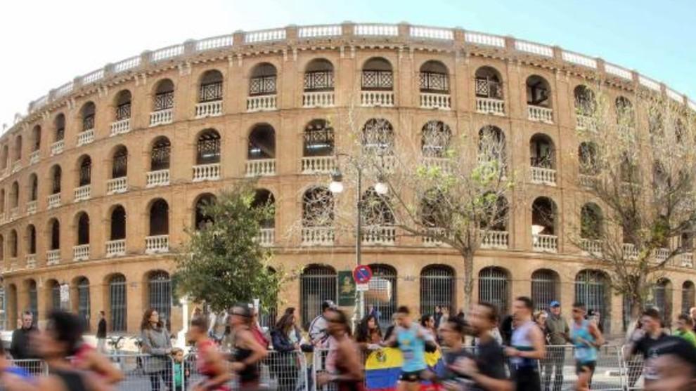 Imagen de la plaza de toros de Valencia.