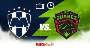 Monterrey vs FC Juárez horario y dónde ver.