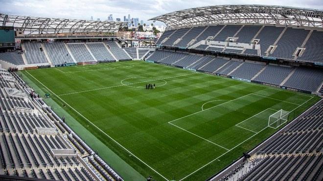 El Banc of California Stadium.