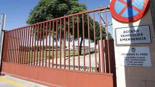 La Ciudad Deportiva, clausurada.