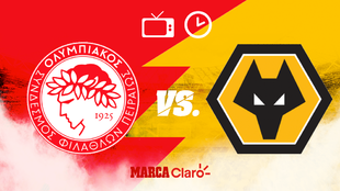 Olympiacos vs Wolves, octavos de final Europa League