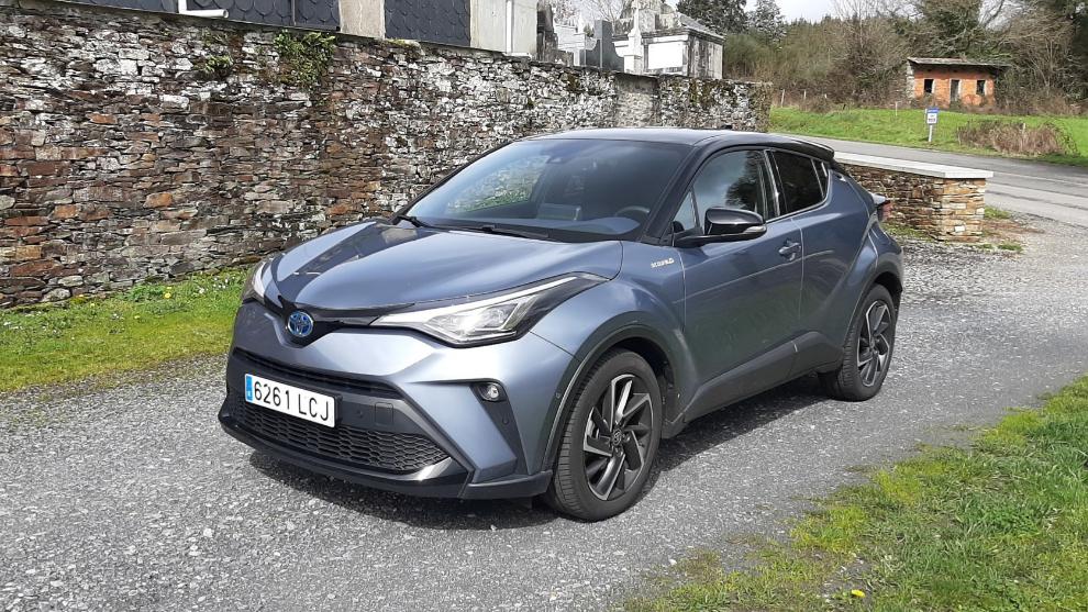 El Toyota C-HR que probamos se correspondía con el acabado Dynamic
