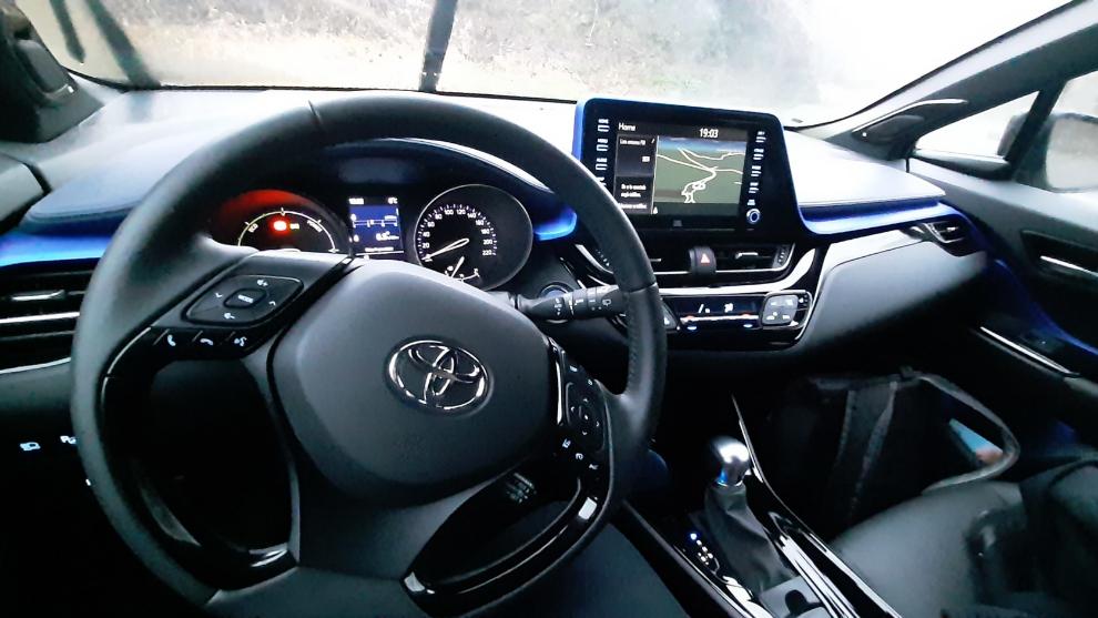 El Toyota C-HR incorpora un nuevo sistema de infoentretenimiento