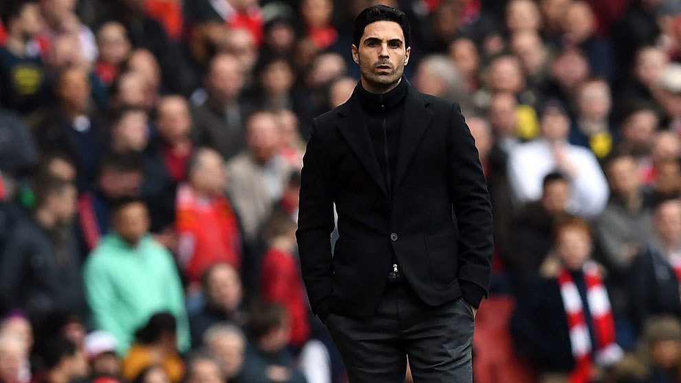 Arsenal boss Arteta tests positive