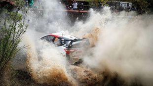 Mejor crono para el galés y su Yaris WRC.