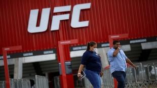 UFC Brasilia, a puerta cerrada por el coronavirus.