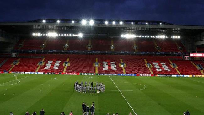 Panorámica de Anfield.