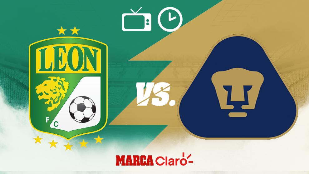 León vs Pumas, hora y dónde ver