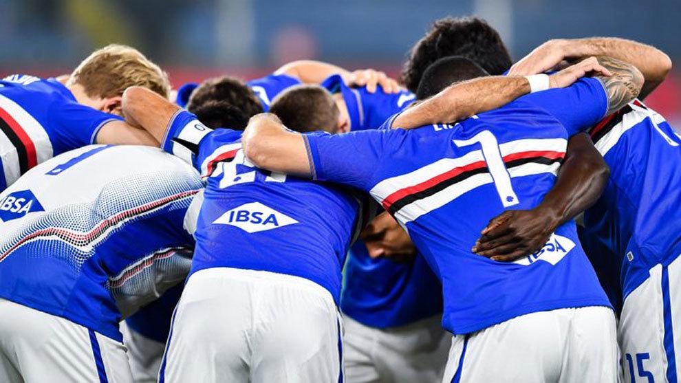 Four more Sampdoria players test positive for coronavirus | MARCA ...