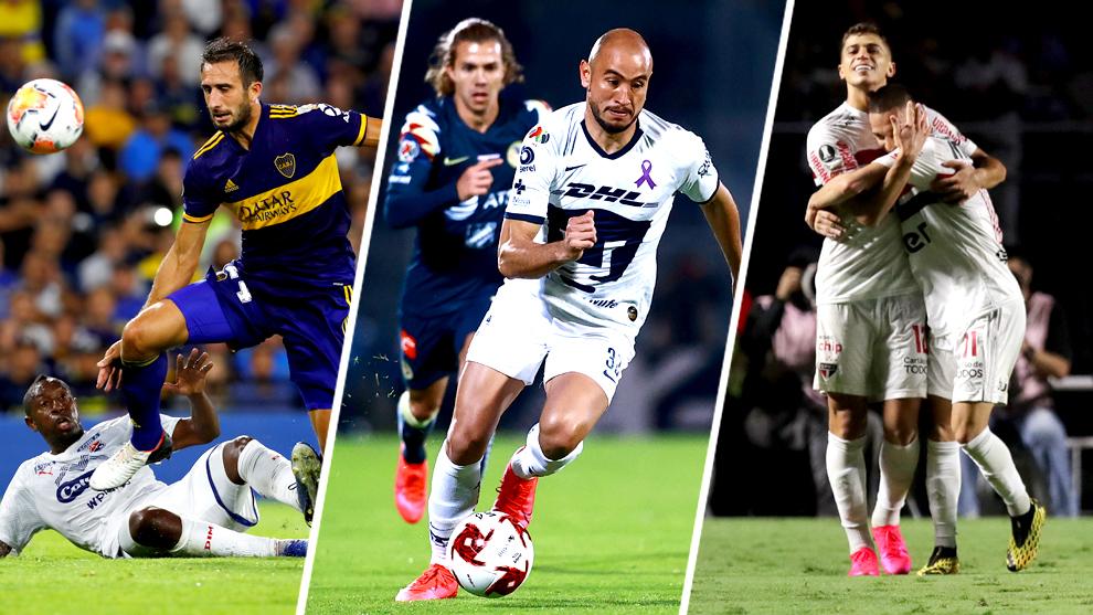 El fútbol de Argentina, México y Brasil siguen adelante pese al...
