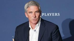 Jay Monahan, comisionado del PGA Tour.