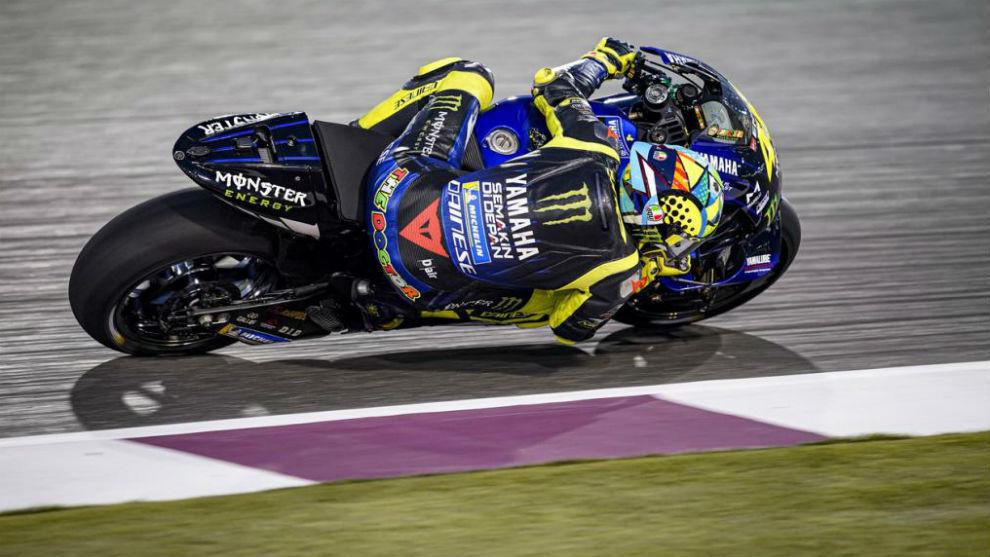 El tenso cruce entre Valentino Rossi y Marc Márquez en