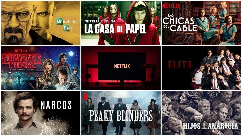 El top 10 de las mejores series de Netflix para un maratón en casa por el  coronavirus   Marca.com