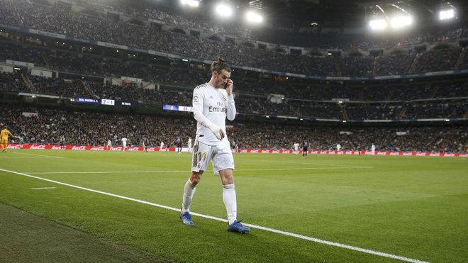 Gareth Bale, durante un partido de esta temporada.