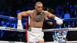 McGregor enel combate contra Mayweather.