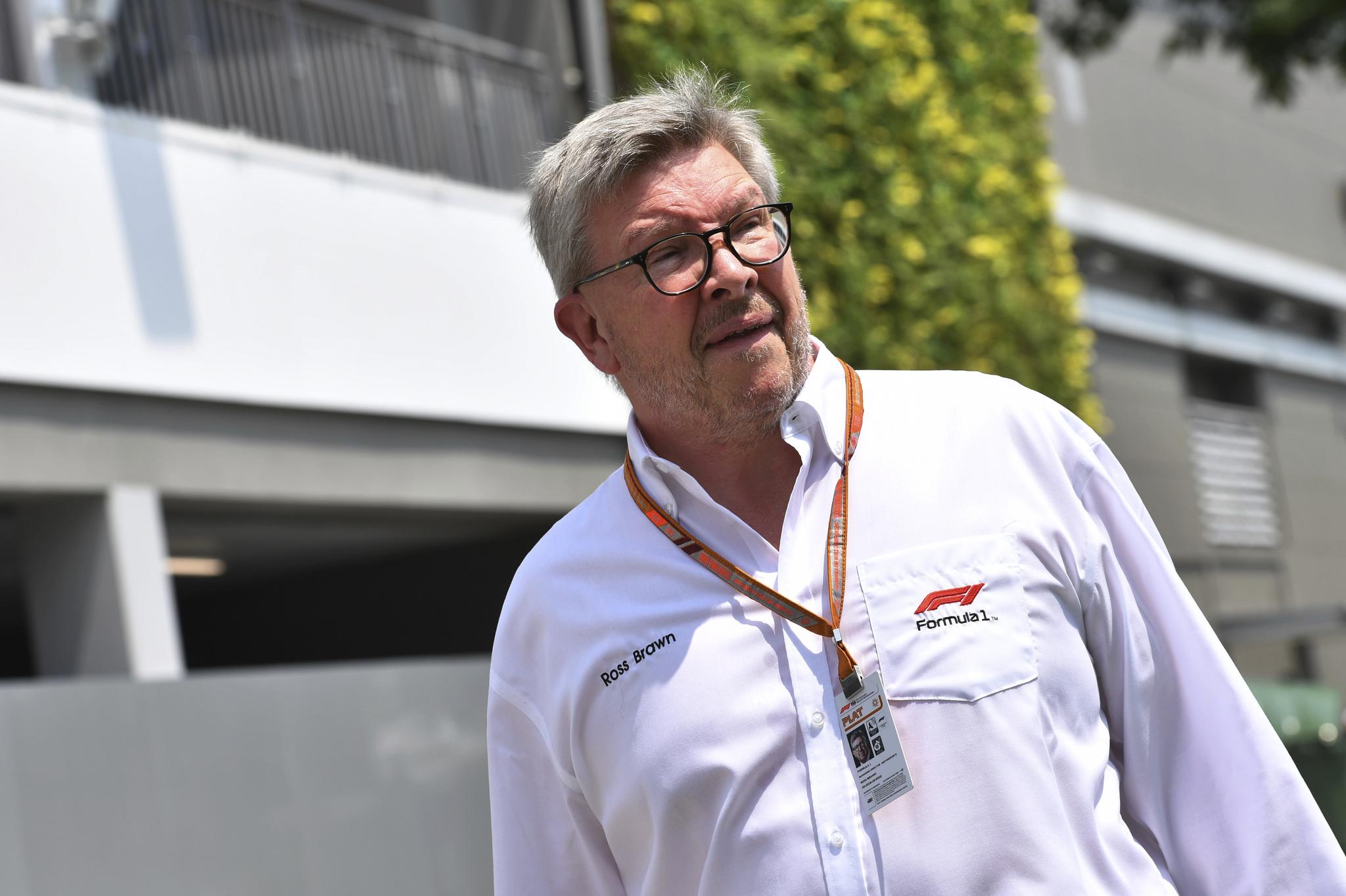 Ross lt;HIT gt;Brawn lt;/HIT gt;, Director General Formula Uno Motorsports. Gran Premio de Singapur 2018. 15ª prueba del mundial. Circuito callejero de Marina Bay, Singapur. Viernes 14 de Septiembre, 2018. *** Local Caption *** RUBIO