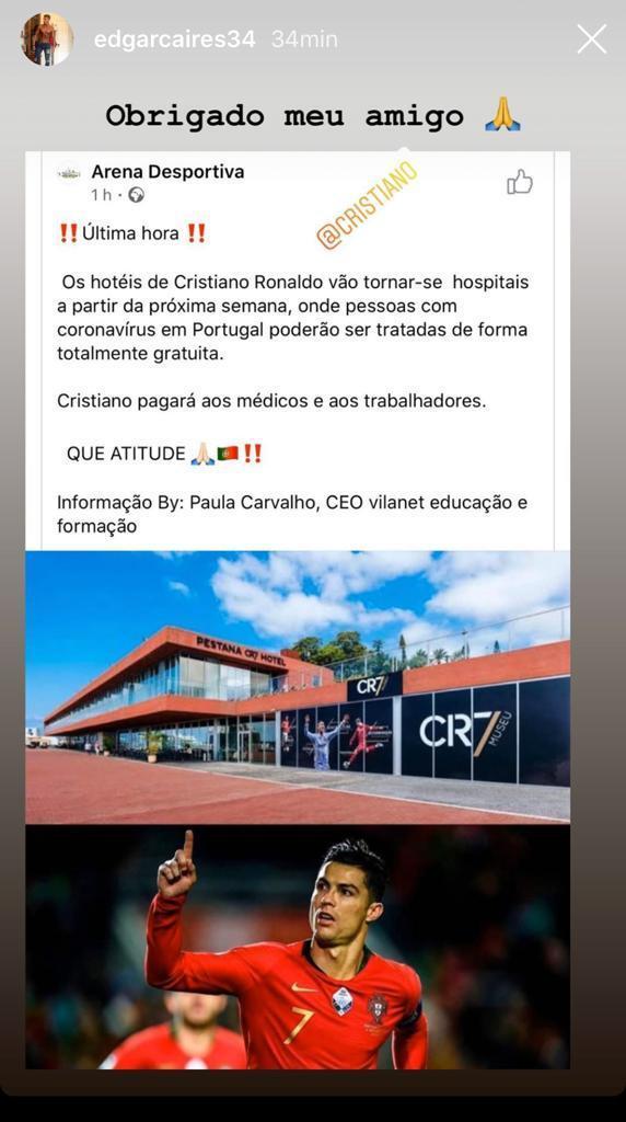 Hotel cr7 ospedali
