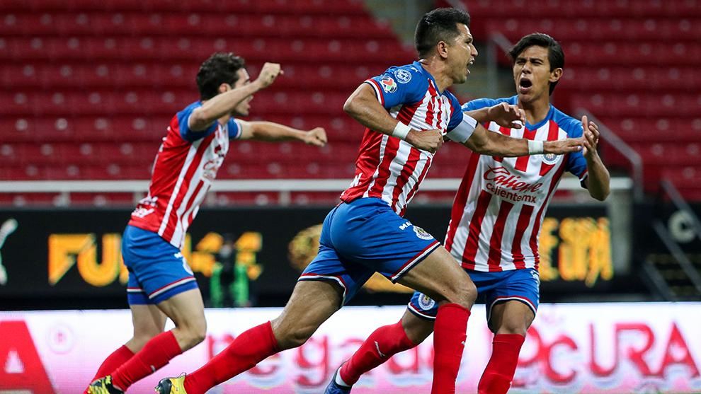Jesús Molina abrió el marcador ante Monterrey.