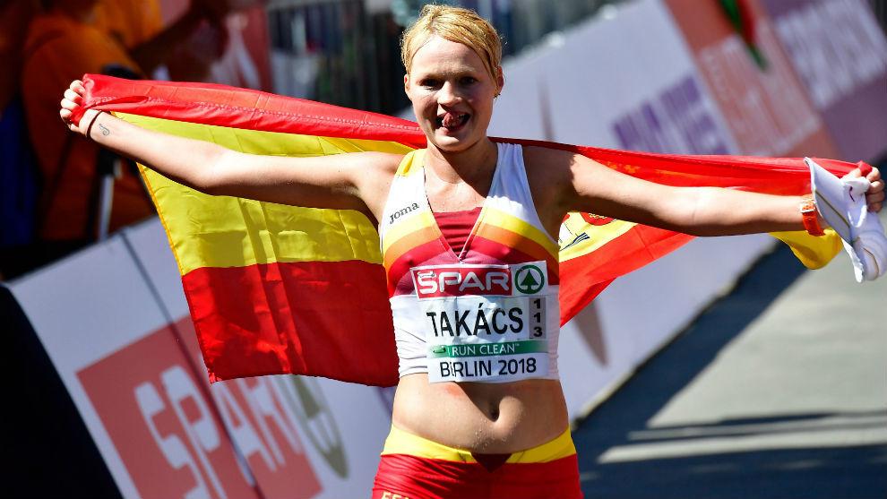 Julia, tras ser bronce en los Europeos de Berlín