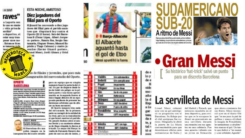 Marca: Vi har nævnt Messi 42.272 gange