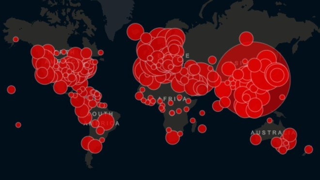 Mapa del Coronavirus en vivo y en directo; así avanza el COVID-19 por...