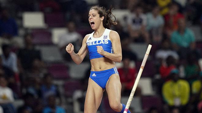 Katerina Stefanidi formaría parte de la delegación de Grecia.