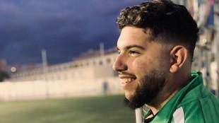 Francisco García, entrenador de infantiles en el Atlético Puerta...