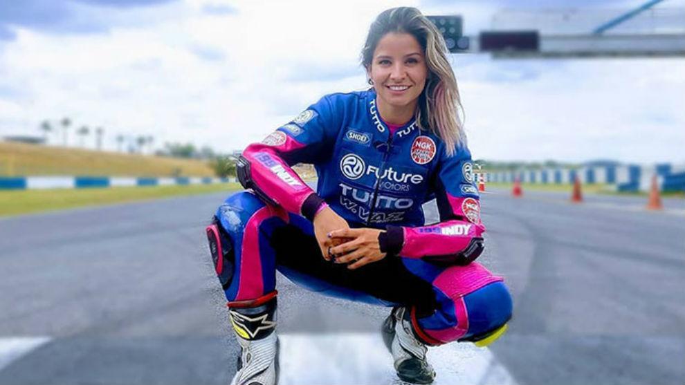 Indiana Muñoz (29 años) en una imagen de archivo.